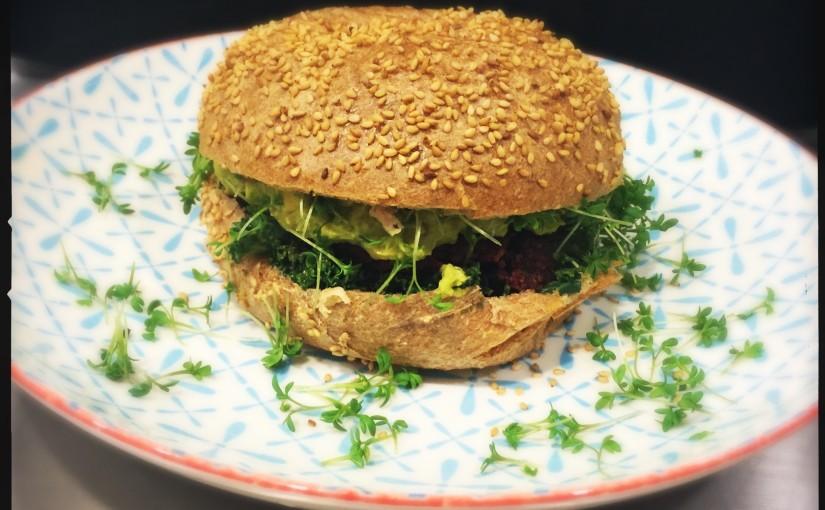 Der beste selbst gemachte Hamburger der Welt