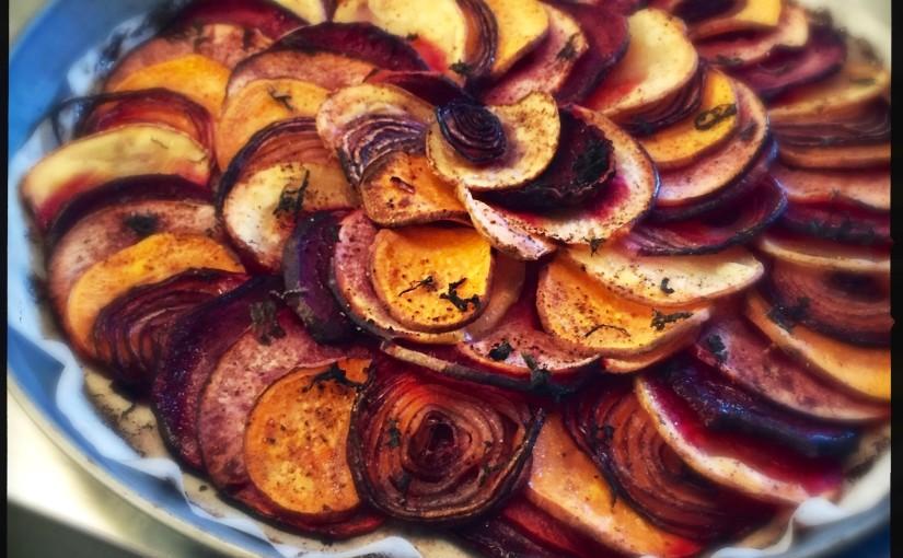 Gemüse Tarte – heimlicher Star jeder Grillparty