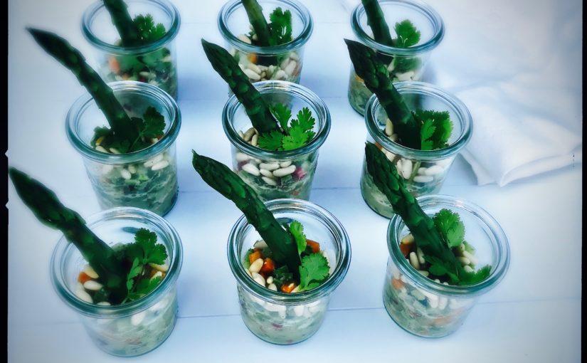 Knackiges Gemüse Taboulé